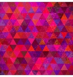 Retro Triangles Background vector image