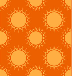 seamless texture with the sun background for your vector image