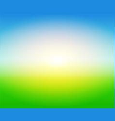 Soft blurry farm field gradient background vector