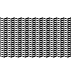 striped background with wavy texture vector image
