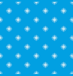 ancient compass pattern seamless blue vector image