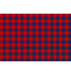 Blue red check seamless background vector image vector image