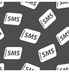 Sms seamless pattern vector image vector image