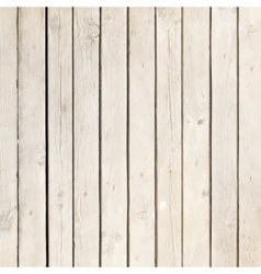 White wood board background vector image