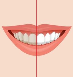 Dentist symbol vector image