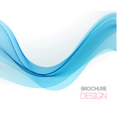 abstract background with smooth color wave vector image
