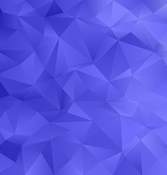 Blue irregular triangle pattern background vector