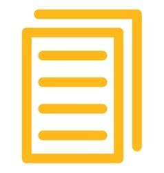 Copy Document Icon vector