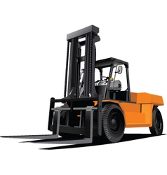 fork lift vector image