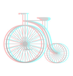Imaginative bike vector