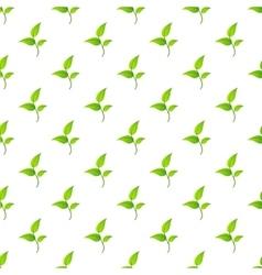 Leaf pattern seamless vector image