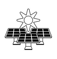 solar energy innovation vector image