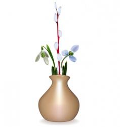 Spring still life vector