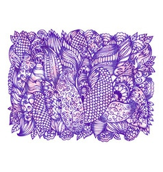 abstract ink art vector image