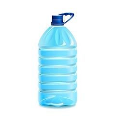 bottle of water vector image vector image