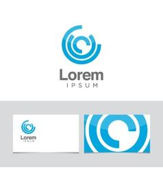 circles icon vector image vector image