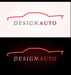 car logo company vector image