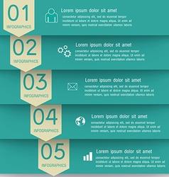 Modern Design infographics EPS 10 vector image vector image