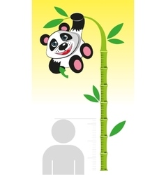 Line growth for children vector image vector image
