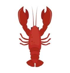 Lobster flat vector image