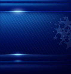Abstract blue background flag american vector