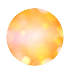 Abstract light bokeh vector image