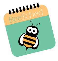 Bee Schedule vector
