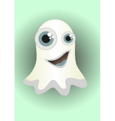 Cartoon ghost vector image