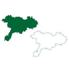 Chittoor district andhra pradesh state republic vector