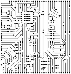 Circuit texture digital background engineering vector