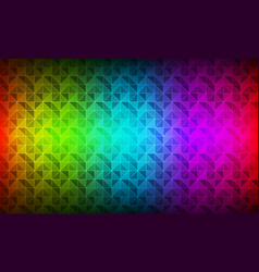 color spectrum modern background polygon vector image