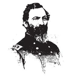 General john sedgwick vintage vector