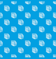 lock data security pattern seamless blue vector image