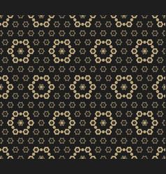 Luxury golden seamless pattern vector
