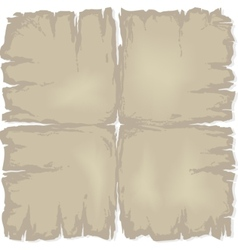 old damaged paper vector image