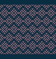 Simple abstract seamless ornament pattern vector