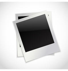 Photo frames isolated vector image vector image
