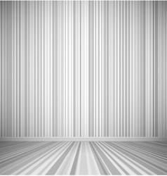 Gray empty room vector image