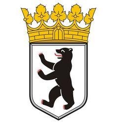 Berlin Coat of Arms vector image vector image