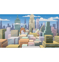Cityscape Day vector image vector image
