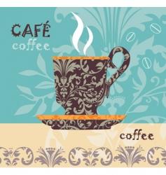 vector coffee vector image