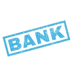 Bank Rubber Stamp vector