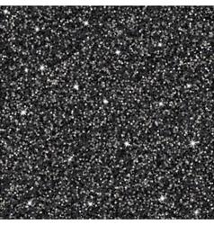 Black glitter background vector