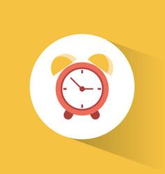Clock time alarm watch vacation vector