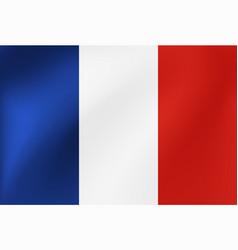 national flag france for vector image