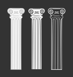 set of symbols column vector image