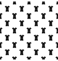 Sport uniform pattern simple style vector image