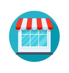 store stylish icon vector image