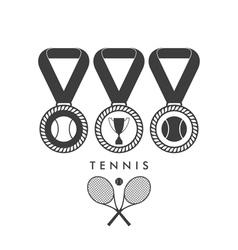 Tennis Award vector image