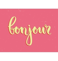 Vintage typography card vector